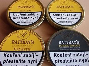 Nové tabáky Rattray´s