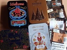 Vánoční tabáky již na skladě