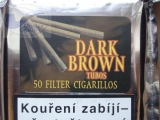 doutníky Filter - Tubos Cigarillos Dark Brown