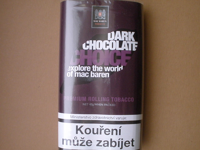 cigaretový tabák Mac Baren Dark Chocolate Choice 40g