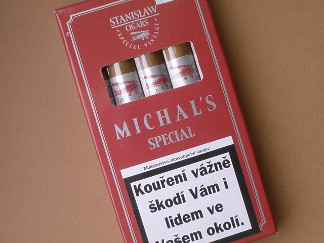 doutníky Stanislaw Special Vintage Red Michals /5
