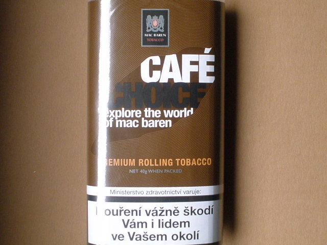 cigaretový tabák Mac Baren Café Choice 40g