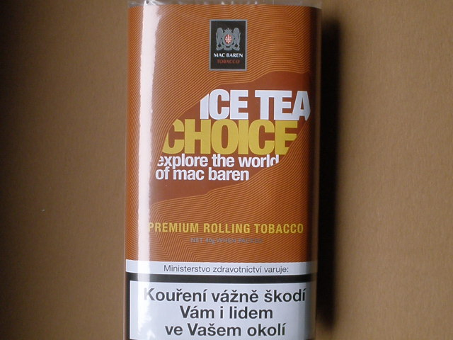 cigaretový tabák Mac Baren Ice Tea Choice 40g