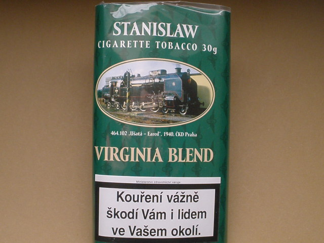 cigaretový tabák Stanislaw Virginia Blend 30g
