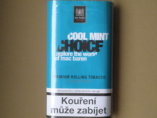 cigaretový tabák Mac Baren Cool Mint Choice 40g