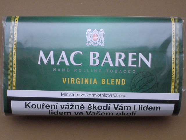 cibaretový tabák Mac Baren Virginia Blend 30g