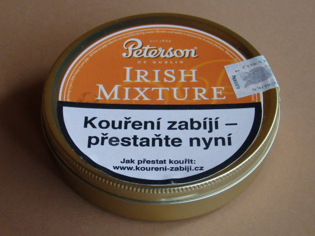 dýmkový tabák Peterson Irish Mixture 50g