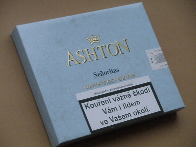 doutníky Ashton Small Blue Seňoritas /10