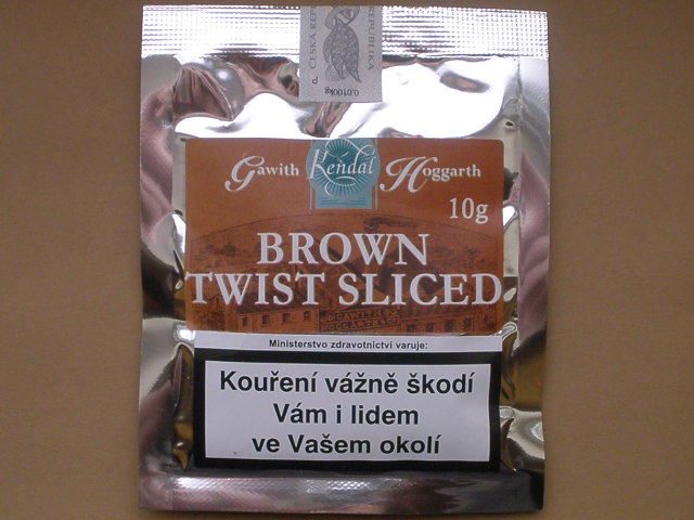dýmkový tabák Gawith Hoggarth Brown Twist Sliced 10g