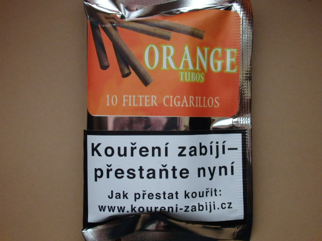 doutníky Filter - Tubos Cigarillos Orange /10
