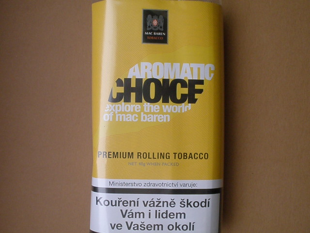 cigaretový tabák Mac Baren Aromatic Choice 40g