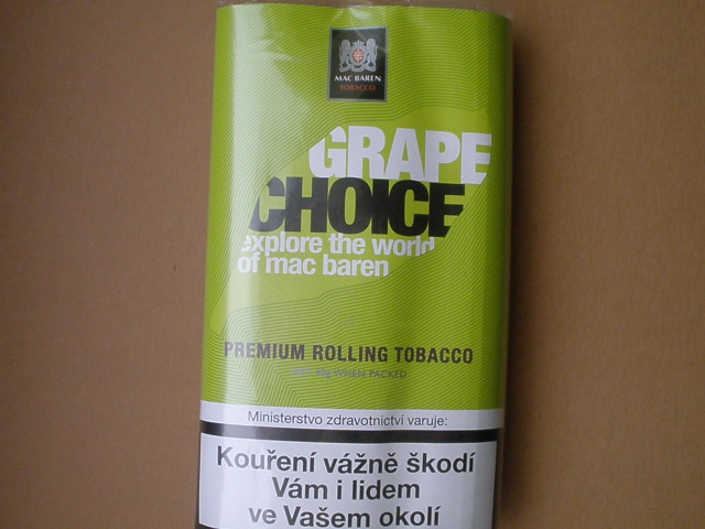 cigaretový tabák Mac Baren Grape Choice 40g