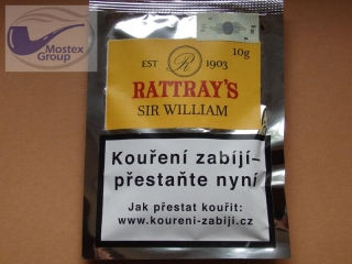 dýmkový tabák Rattray´s Sir William 10g